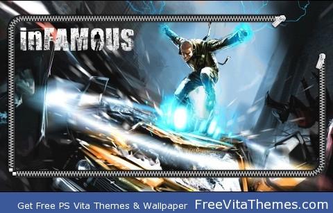 inFAMOUS Vita PS Vita Wallpaper