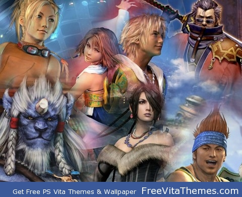 Final Fantasy X PS Vita Wallpaper