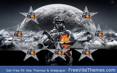 battlefield w3 PS Vita Wallpaper