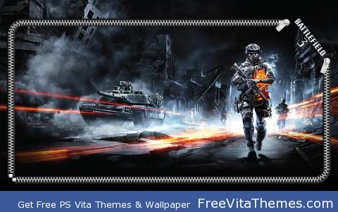 battlefield 3 lock PS Vita Wallpaper