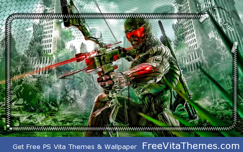 Crysis 3 PS Vita Wallpaper