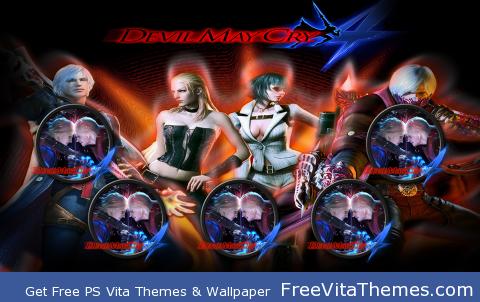 Devil May Cry w2 PS Vita Wallpaper