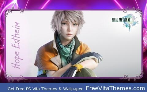 FFXIII Hope Estheim PS Vita Wallpaper