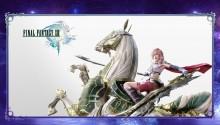 Download FFXIII Lightning & Odin PS Vita Wallpaper