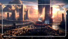 Download City PS Vita Wallpaper