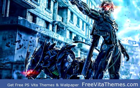 Metal Gear Rising PS Vita Wallpaper
