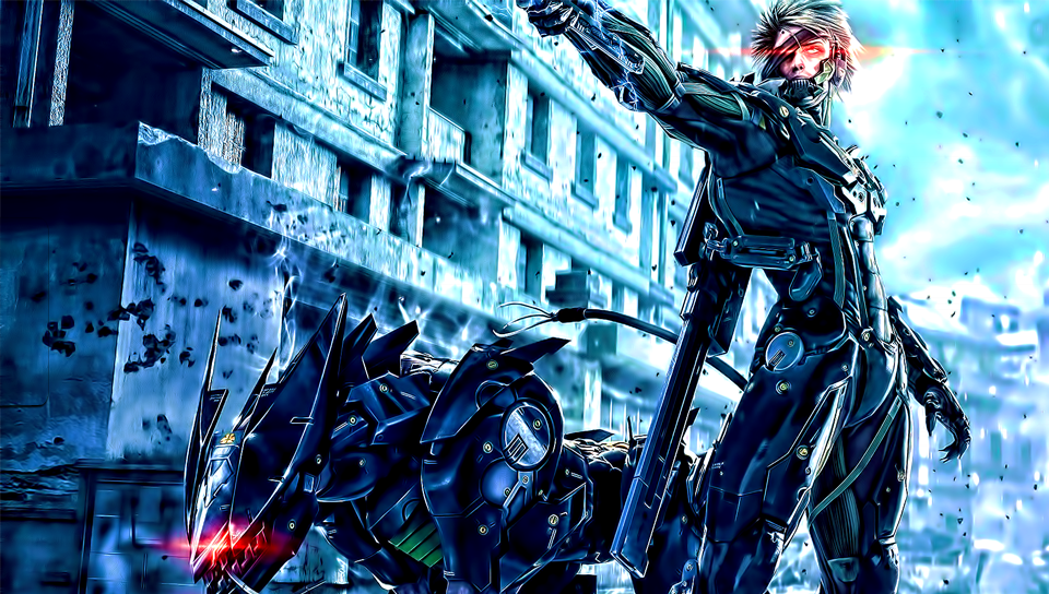 Metal gear rising ps vita wallpapers free ps vita themes and metal gear rising ps vita wallpaper voltagebd Choice Image