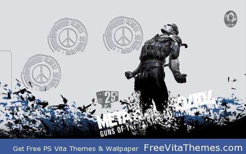 Metal Gear Solid 4 PS Vita Wallpaper