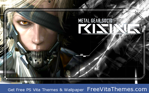 Metal Gear Rising PS Vita Wallpaper