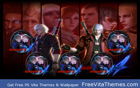 Devil May Cry w3 PS Vita Wallpaper