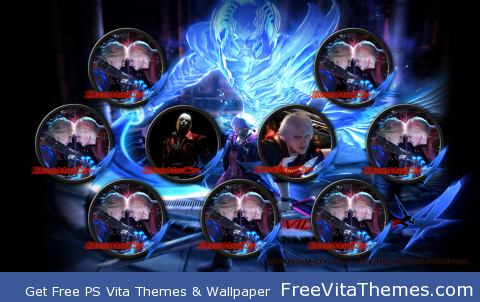 Devil May Cry w1 PS Vita Wallpaper