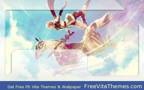 Lightning FFXIII PS Vita Wallpaper