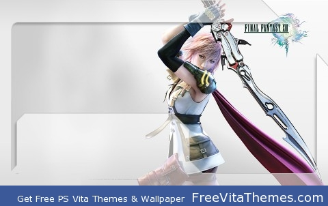 FF XIII Lightning PS Vita Wallpaper