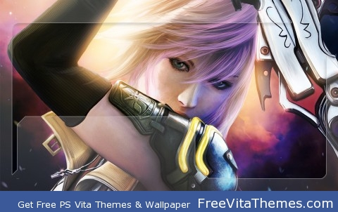 FF XIII Lightning 2 PS Vita Wallpaper