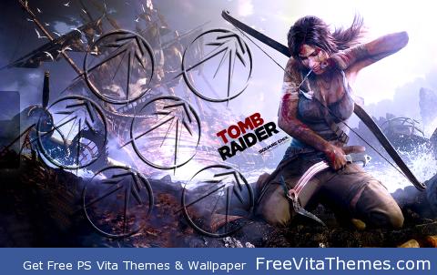 Tomb Raider PS Vita Wallpaper
