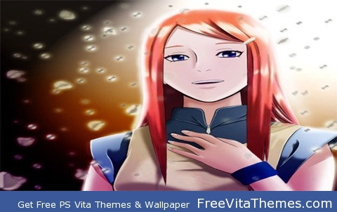 Naruto shippuden kushina PS Vita Wallpaper