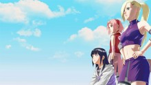 Download Naruto shippuden Ino, sakura, hinata PS Vita Wallpaper