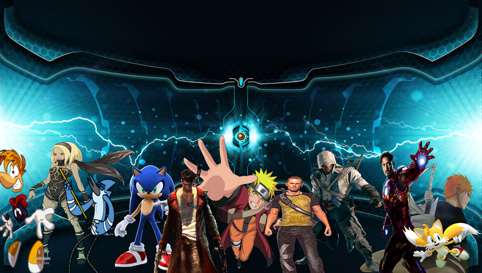 My Anime Game Movie Characters PS Vita Wallpaper