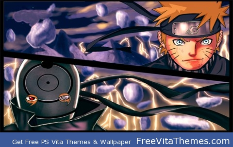 Naruto shippuden Naruto vs mardara PS Vita Wallpaper