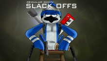 Download regular show slack offs PS Vita Wallpaper