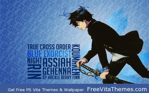 blue exorcist rin PS Vita Wallpaper