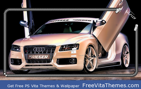 Audi S5 Rieger PS Vita Wallpaper