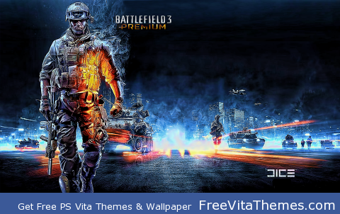 Battlefield 3 PS Vita Wallpaper