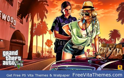 GTA 5 PS Vita Wallpaper