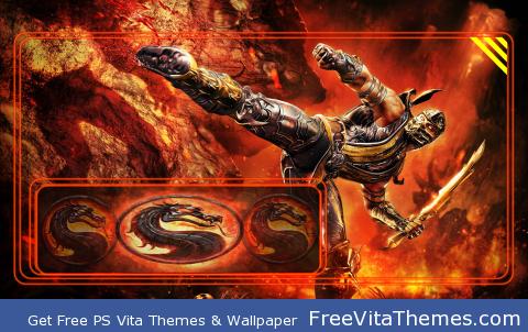 MK Scorpion 1 PS Vita Wallpaper