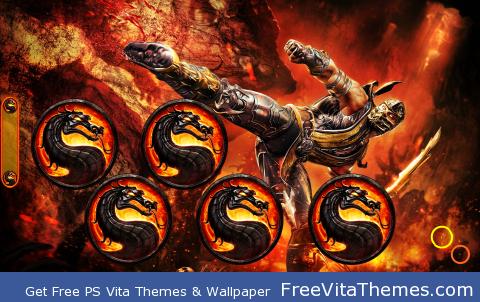 MK Scorpion 2 PS Vita Wallpaper