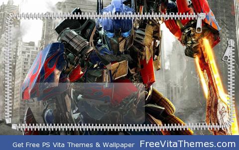 Optimus Prime PS Vita Wallpaper