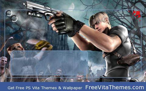 Resiendt Evil 4 biohazard PS Vita Wallpaper