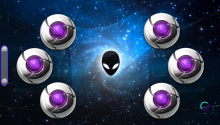 Download Alien Chrome PS Vita Wallpaper