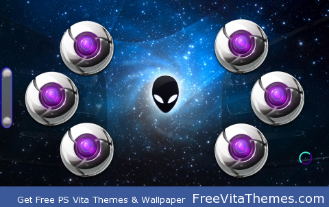 Alien Chrome PS Vita Wallpaper