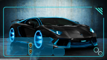 Download Aventador PS Vita Wallpaper