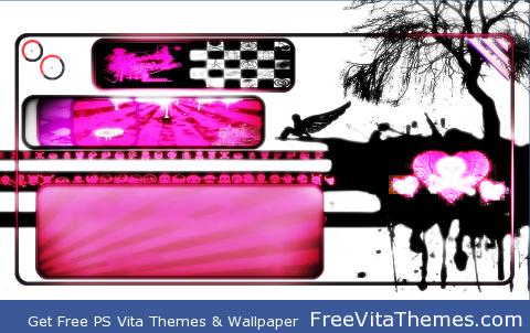 EmO Time PS Vita Wallpaper