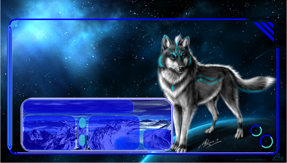Wolf Space PS Vita Wallpapers - Free PS Vita Themes and Wallpapers