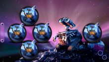 Download Wall e limited PS Vita Wallpaper