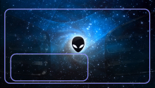 Download Galaxy Alien PS Vita Wallpaper
