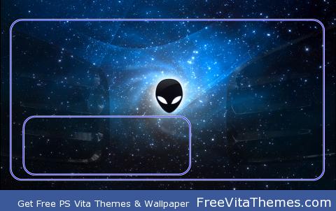 Galaxy Alien PS Vita Wallpaper