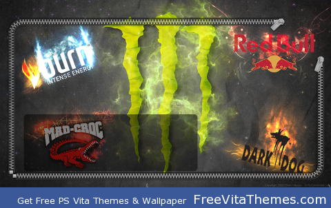 Drink Energy PS Vita Wallpaper