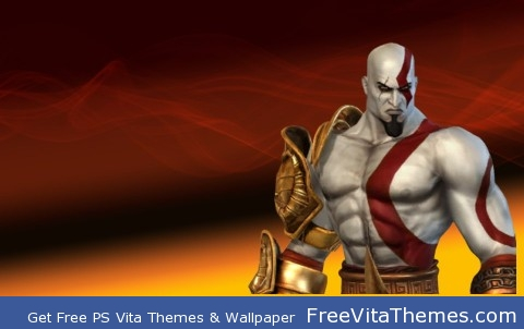Kratos ps vita wallpaper PS Vita Wallpaper