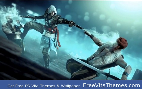 assassins creed 4 PS Vita Wallpaper
