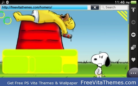 homero PS Vita Wallpaper