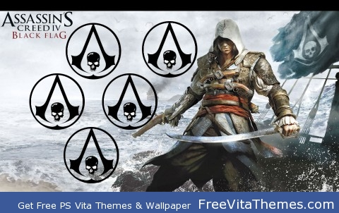 Assassin's Creed IV PS Vita Wallpaper