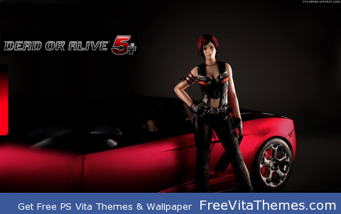 Dead or Alive 5+ Ready to Ride Her? PS Vita Wallpaper