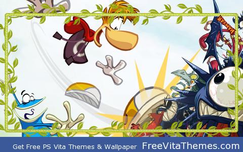 Rayman PS Vita Wallpaper