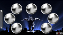 Download Silver Surfer PS Vita Wallpaper