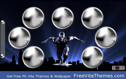 Silver Surfer PS Vita Wallpaper