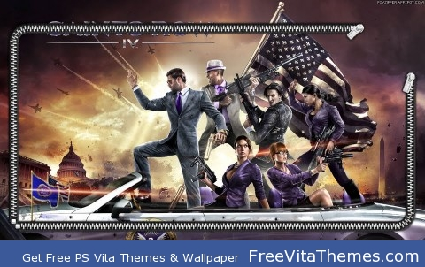Saints Row IV lockscreen PS Vita Wallpaper